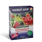 Удобрение Чистый лист для плодовых и ягодных