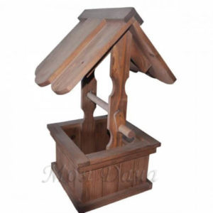 Колодец деревянный