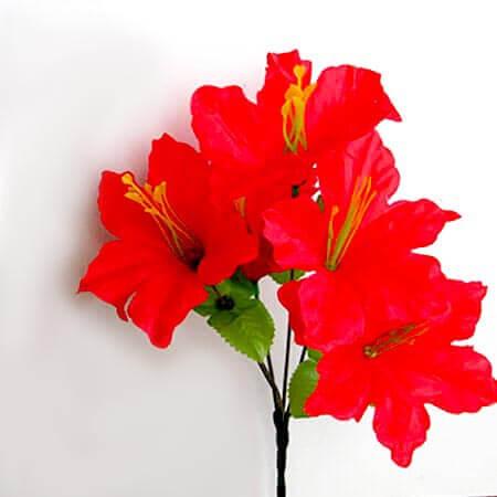 Искусственный цветок Лилия красная