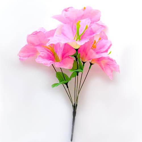 Искусственный цветок Лилия розовая