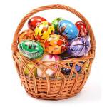 Пасхальные яйца (наклейки)