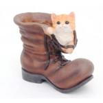ботинок с котенком