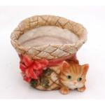 шляпа с котенком