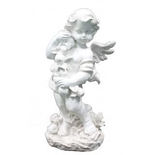 Фигура Ангел с яблоками