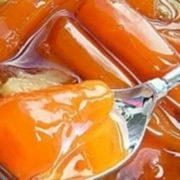 Морковь Зимний цукат -варим варенье
