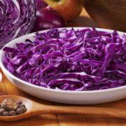 Капуста краснокочанная салат