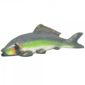 Садовая фигура для пруда Рыбка зеленая