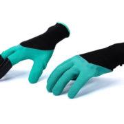 перчатки с когтями для огорода