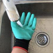 перчатки с пластиковыми когтями