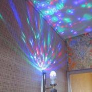 led full color rotating lamp 1