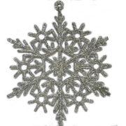 Снежинка серебристая