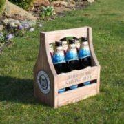 Ящик для пива деревянный
