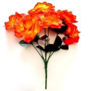 Роза оранжевая