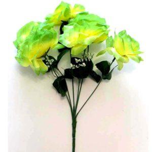 Роза желто-зеленая