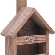 Кормушка для птиц деревянная Ранняя пташка
