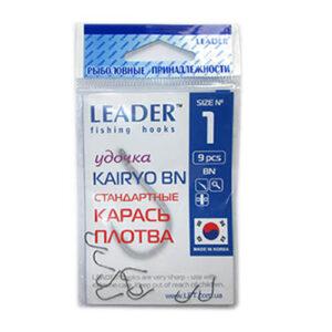 Крючок Leader KAIRYO