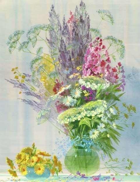 самосевные цветы