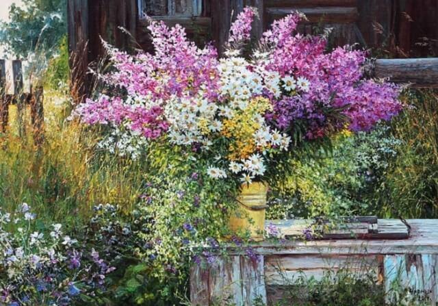цветы размножаются самосевом