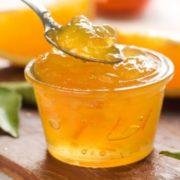 Апельсиновое желе репа