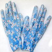 Перчатки голубые
