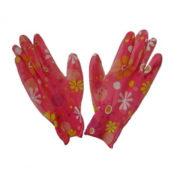 Перчатки розовые