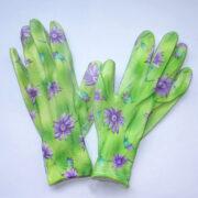 Перчатки салатовые