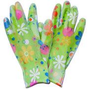 Перчатки цвет Лайм
