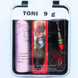 Набор блесен Toni 9 g